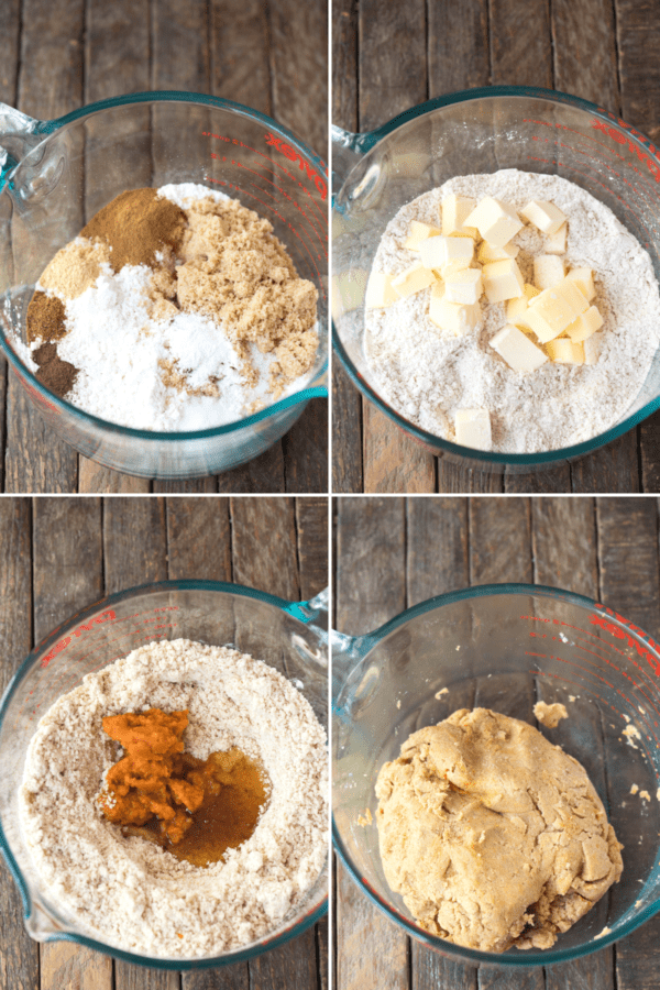 how to make pumpkin graham crackers with ingredients collage