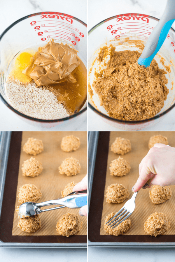 how to make healthy peanut butter cookies
