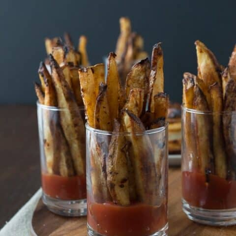 Spicy Dijon French Fries