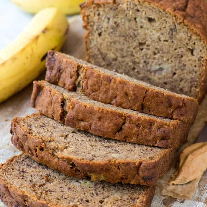 Peanut Butter Banana Bread